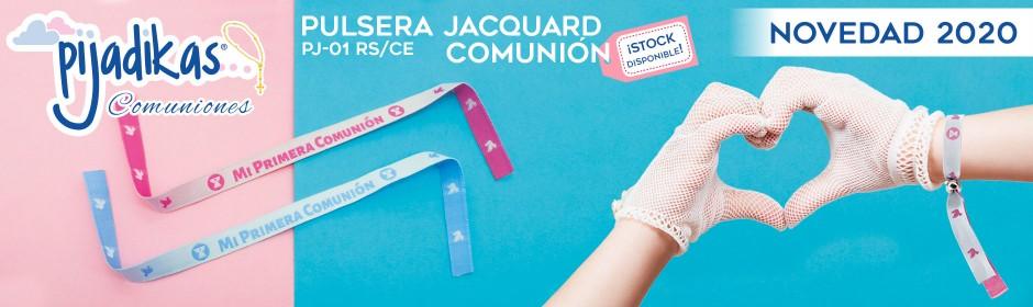 PJ-01 PULSERA COMUNION JACQUARD